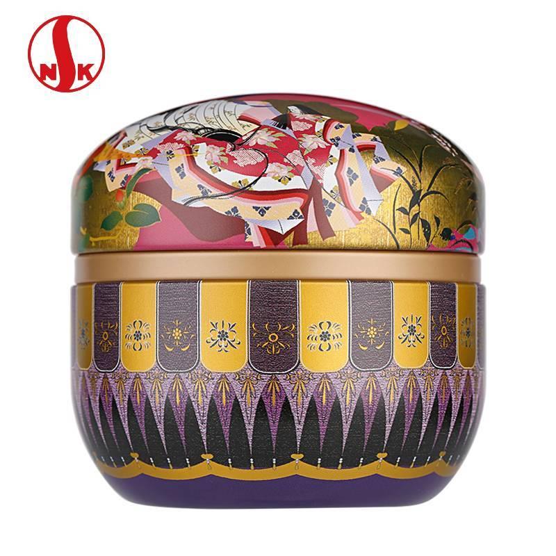 日本日东茶叶罐 日本NITTOH原产镀锡马口铁食品级茶叶盒