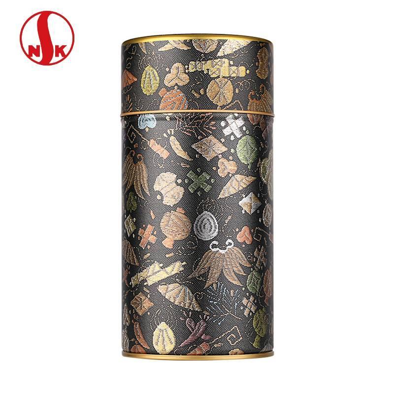日本进口日东茶叶罐 日本NITTOH原产镀锡薄钢板食品罐