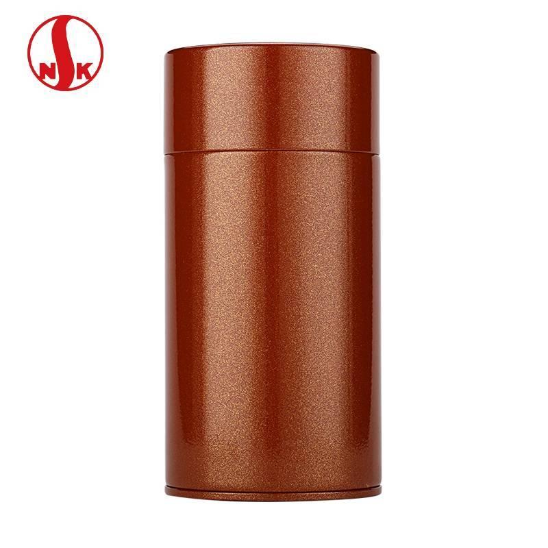日本原产进口日东茶叶罐 日本NITTOH烤漆食品级镀锡茶罐