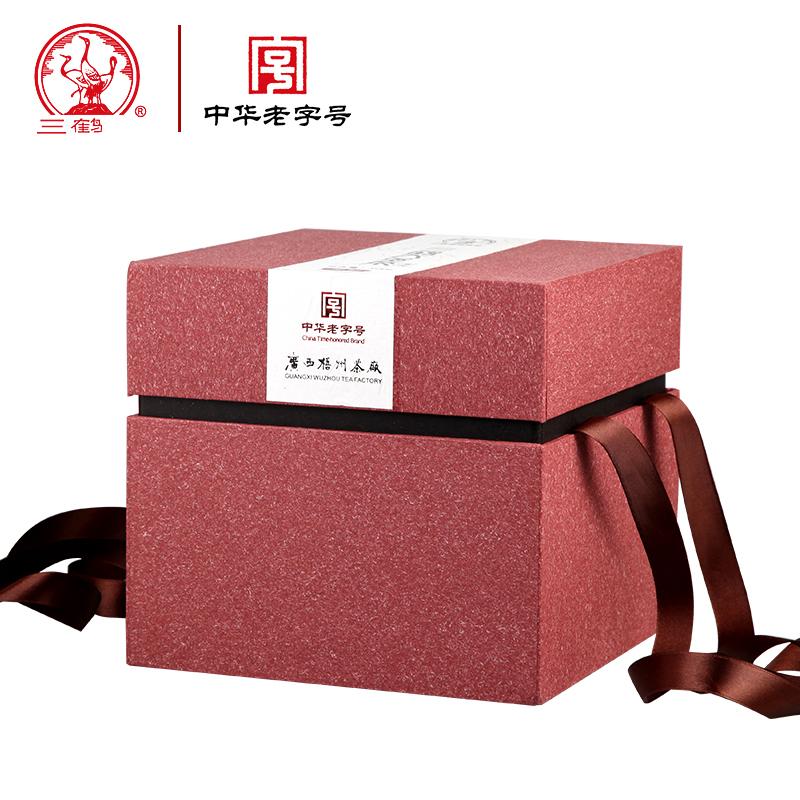 三鹤六堡茶 2012年特级珍藏七年陈黑茶500g 散茶【金醇】