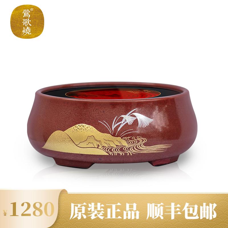 【莺歌烧旗舰店】正品电陶炉静音茶炉家用台式小型迷你煮茶器