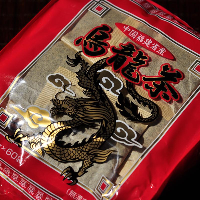 2004年出口日本回流老乌龙茶/武夷岩茶/武夷水仙 袋泡茶 5g*60袋